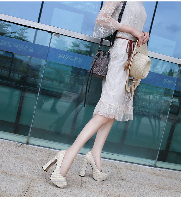 Size36 rojo Las Negro Tacones Zapatos Mujer Calidad verde La 46 De Europeo plata Alta Nuevas Mujeres Clásico oro 2018 Señoras Para Med Bombas Oficina aqCxfFnfw