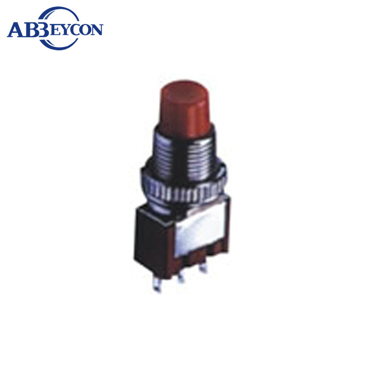 NS205 DS 613C 10mm Momentary ON ON 2A 250VAC red head 3 pin toggle switch
