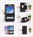 Для UMI X2 Case Высококачественным Мода Мобильного Телефона Кожи Case С Большими Мобильного Окно Бесплатная Доставка