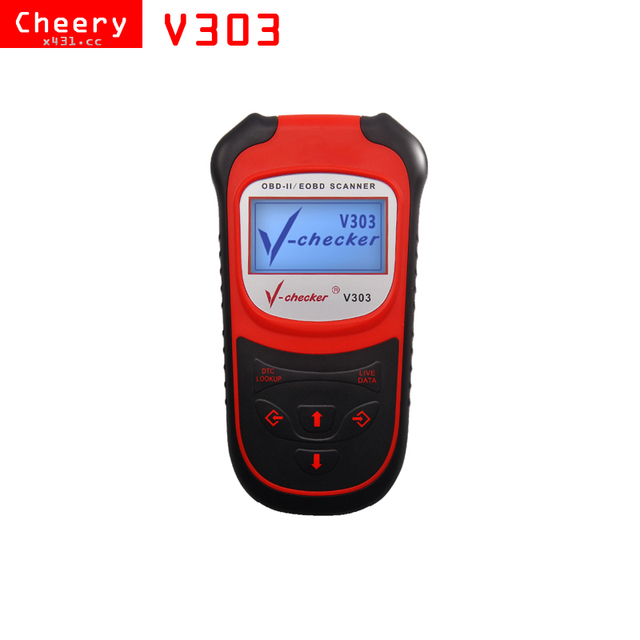 US $43 39 |V checker V303 OBDII CANBUS Diagnostic tool OBD2 Scanner for  Peugeot for Toyota for Renault for Mazda for Nissan   -in Code Readers &  Scan