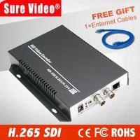 HD H.265 SDI ip sdi encoder kiloview for IP stream to VLC Media Server Xtream Codes