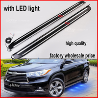 Highlander Running Board Side Bar Foot Bar Highlander Side Step With LED Light Model Low Profit