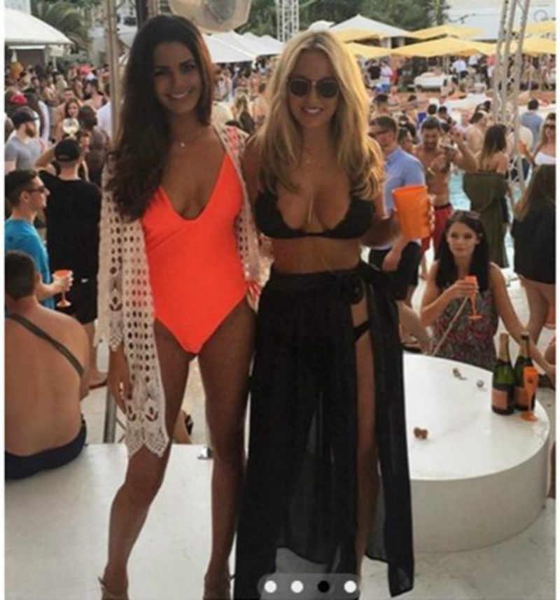 9838958dfce32 Sexy Women Bikini Cover Ups Swimsuit Maxi Skirt Beach Sarong Long Dress  Swimwear Summer Blouse 5