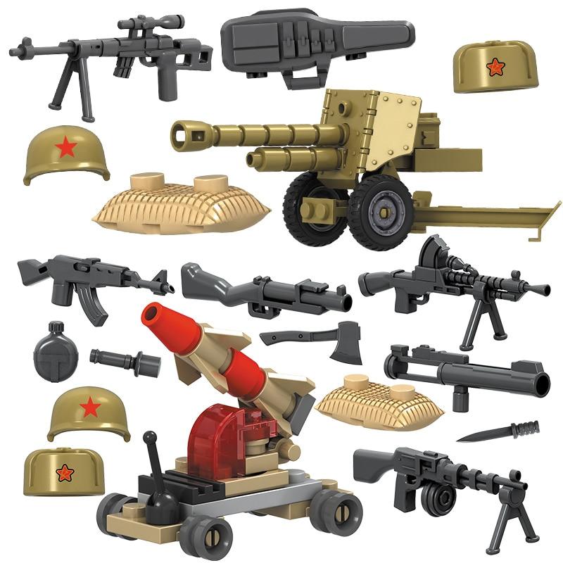 4pcs / lot SWAT Hərbi Şəkil II Dünya Müharibəsi Ordu - Uşaq konstruktorları - Fotoqrafiya 5