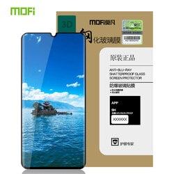 Dla Huawei P30 Pro szkło hartowane MOFi 3D zakrzywione pełna pokrywa folia ochronna Screen Protector