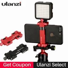Ulanzi Aluminium Mobile Tripod Mount with Hot Shoe Mount for Boya Rode VideoMicro Microphone 1 4