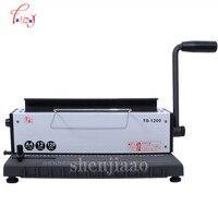 TD 1200 fio máquina de ligação de dois fios máquina de ligação calendário máquina de perfuração pasta de alta qualidade|Encadernadora| |  -
