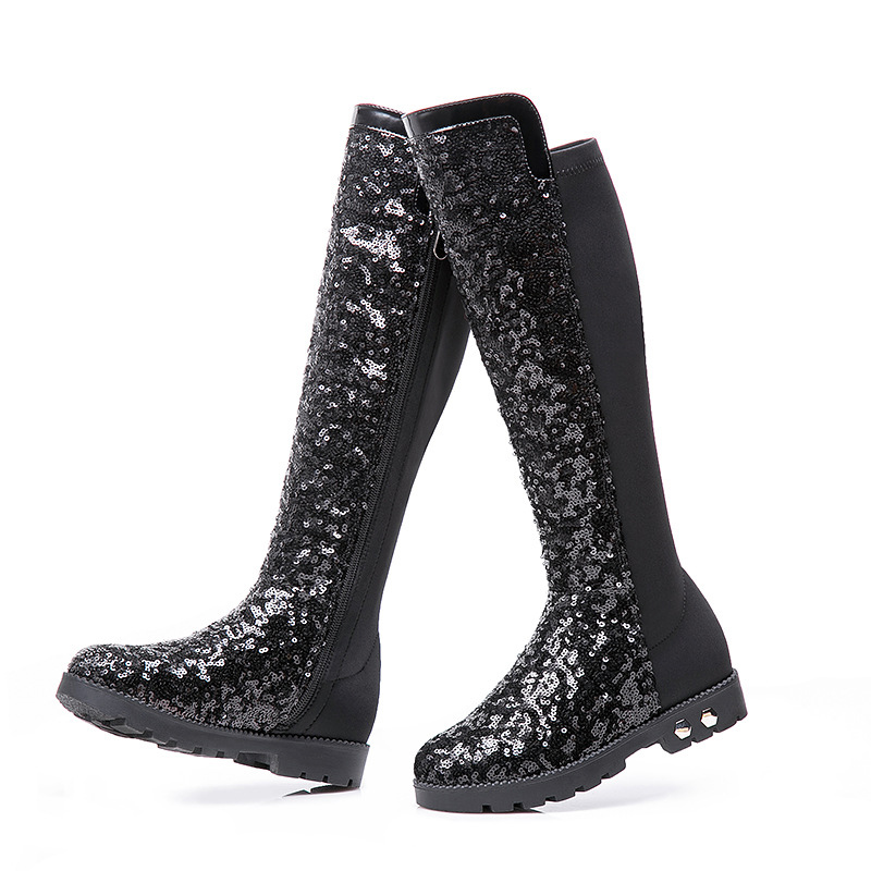 Popular Glitter Girls Boots-Buy Cheap Glitter Girls Boots lots ...