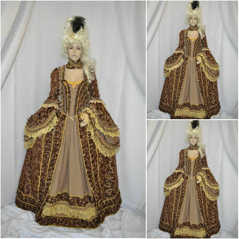 Historia! cliente-hecho vintage dress gótico de halloween disfraces cosplay  dress dress steampunk victoriano renacimiento vestidos c-701 a87ec0a9ef99
