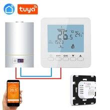 Tuya app Еженедельный программируемый настенный газовый котел беспроводной термостат wifi для IFTTT Alexa Google home