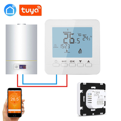 Tuya app Weekly programmable wall-mounted gas boiler wireless thermostat WIFI for IFTTT Alexa Google home