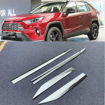 ABS chrime tự động cửa phụ viền moulding dành cho xe Toyota RAV 4 2019 tự động phụ kiện