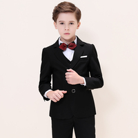 Boys Suits For Weddings Kids Blazer Suit For Boy Costume Enfant Garcon Mariage Jogging Garcon Blazer Boys British styleTuxedo L2
