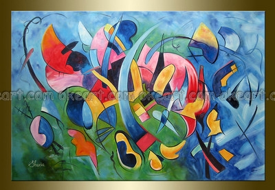 100 Hand Painted Free Shipping High Quality Jazz Band Home