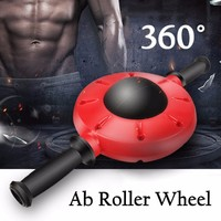 Fitness Ab Roller Abdominal Exercise Machine Abdominal Muscle Trainer Abdominal Wheel Home Abdomen Workout Gym Equipment Tools