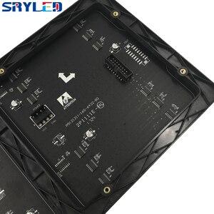 Image 4 - 64x32 พิกเซลแผง 320x160MM สีดำ LED โคมไฟ P5 ในร่ม SMD2121 P5 สี LED โมดูล 1/16 Scan