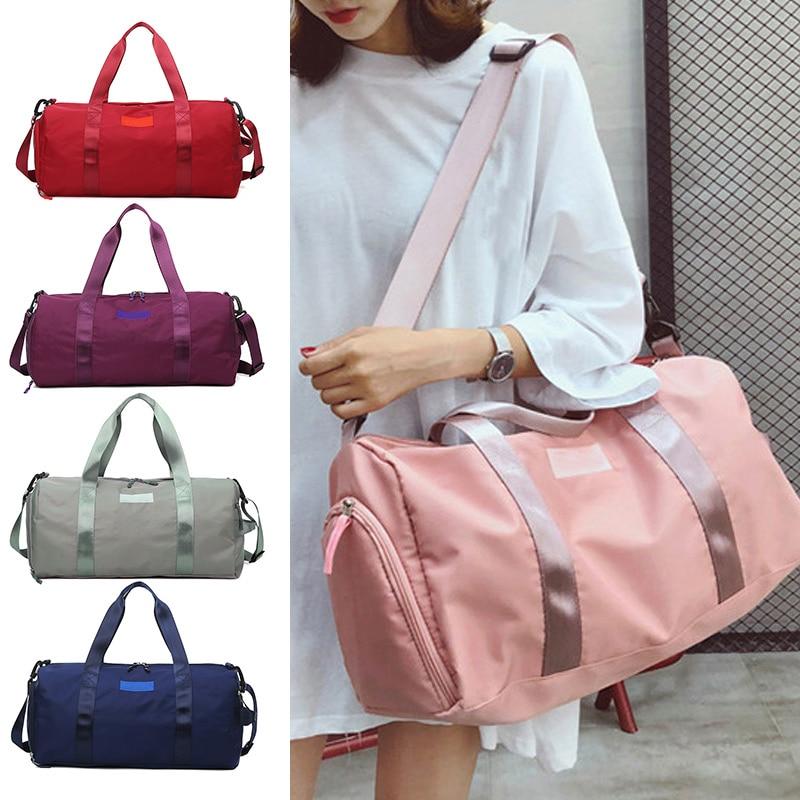 Cylinder-Bag Sports-Bag Dry-Wet-Handbag Fitness Travelling Large-Capacity Women for Xr-Hot
