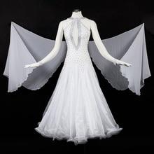 Ballroom Dress For Women High Quality Custom Made Tango Flamenco Waltz Competition Dancing Dresses Lady's Ballroom Dance Costume