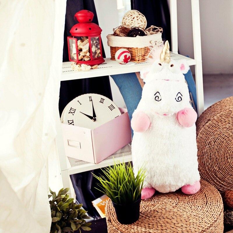 Kawaii Grande Taille 55 cm Despicable Me Minions Fluffy Licorne Licorne Animal En Peluche Juguetes Doux En Peluche Peluches Poupée Enfants Jouets