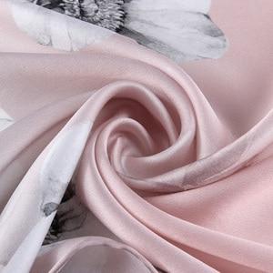 Image 4 - Hijab Women Chiffon Silk Scarves Brand Luxury New Sunscreen Scarf Beach Towel Gradients Wholesale Large Size Face Shield Bandana