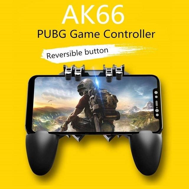 PUBG Trigger controller Button Gamepad mobile Game  Peripherals tetik pubg joystick controller for samsung Android PUBG  iphone