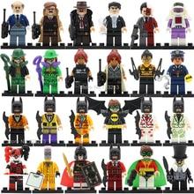 Single Sale Roma Batman Super Hero Figure Police Barbara Bruce Wayne Robin Penguin Tarantula Riddler Building Blocks Bricks Toys