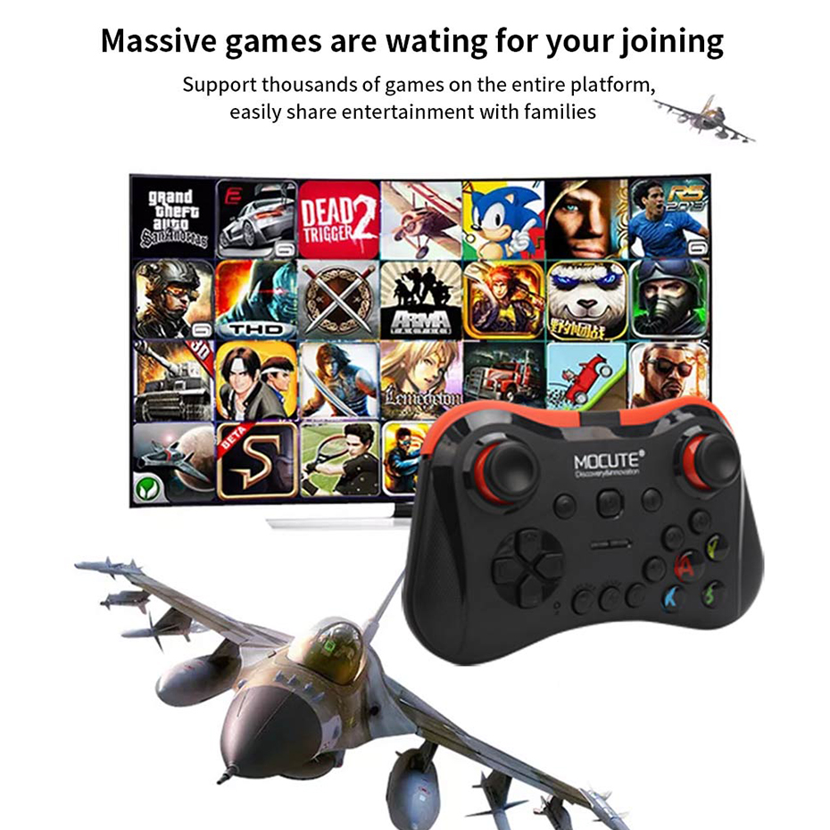Mocute 050 056 Wireless Gamepad Bluetooth joystick Android Controller VR Gamepad for Tablet PC Windows TV Box Android Smartphone