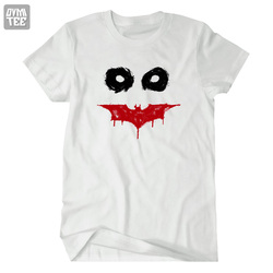 Gotham batman joker short sleeve t shirt fashion tee why so serious 2016 new style funny.jpg 250x250