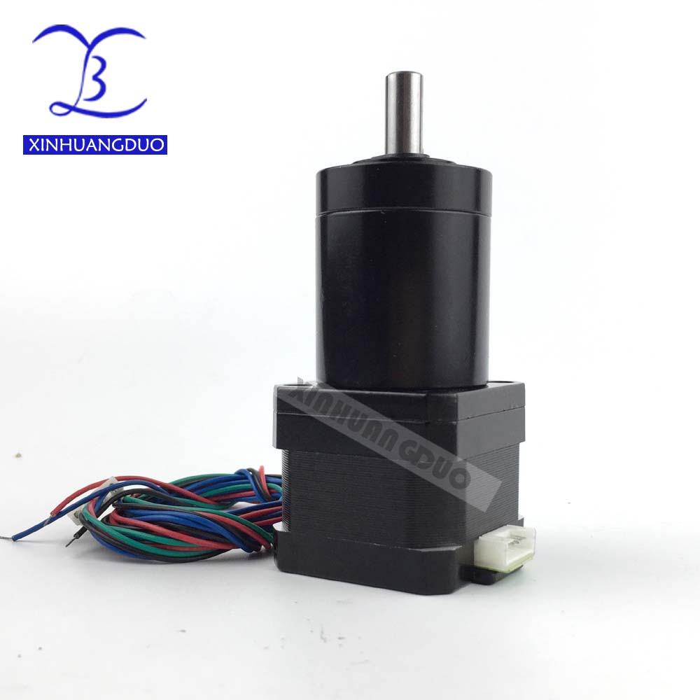 Gear ratio 100:1 51:1 71:1 Planetary Gearbox stepper motor 34MM Nema 17 Geared Stepper Motor 3d printer stepper motorGear ratio 100:1 51:1 71:1 Planetary Gearbox stepper motor 34MM Nema 17 Geared Stepper Motor 3d printer stepper motor