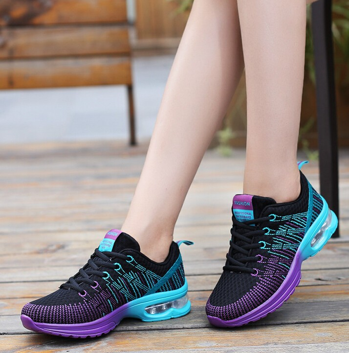 Women's Sneakers Breathable Cushioning Women Running Shoes XYP418 4