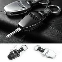 Silver Black Car Key Bag Holder Cover Frame For Jeep Wrangler 2008 2017 For Jeep Compass