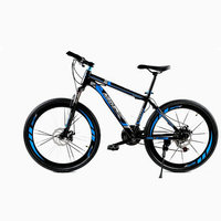 2017 The Latest Road Bike Two Disc Brakes 26 Inch 21 Variable Speed Bike Male And