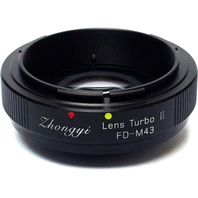 Zhongyi Lens Turbo II Odak Düşürücü Hız Yükseltici Adaptör için Canon FD Dağı Lens Mikro Four Thirds MFT Kamera m4/3 MFT GH4