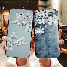 Роскошный мягкий силиконовый чехол для Huawei honor 4C 5C 6C Pro 5X 5A 6A 6X 3D рельефный тканевый чехол для Huawei GT3 GR5(China)