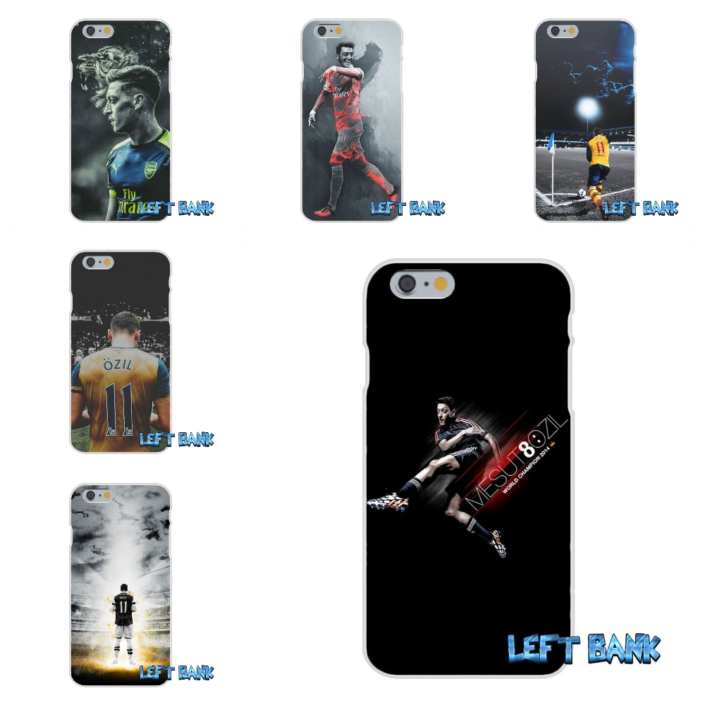 For Samsung Galaxy S3 S4 S5 MINI S6 S7 edge S8 Plus Note 2 3 4 5 Mesut Ozil Soccer Star Silicon Soft Phone Case Cover