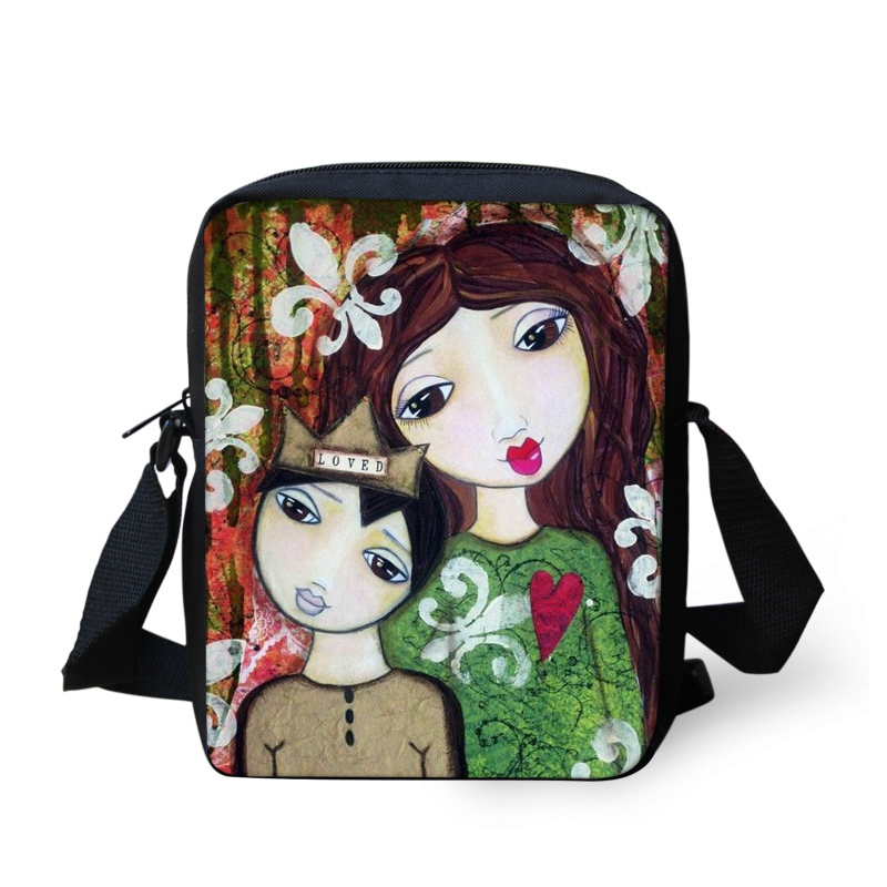 FORUDESIGNS Brand Children School Bag Cartoon Girls Printing for Women Fashion Kids School Bag Baby Book Bags Mochila Infantil