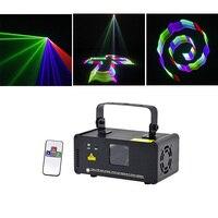 Sharelife البسيطة 3D RGB كامل اللون DMX الليزر مسح ضوء برو DJ المنزل حزب أزعج شعاع تأثير مرحلة الإضاءة عن بعد الموسيقى TDM RGB400-في تأثير إضاءة المسرح من مصابيح وإضاءات على
