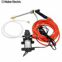Freies Verschiffen Auto Waschen Pumpe Hohe Spannung 12V Auto Set Tragbare Elektrische Mini Einfache Klimaanlage Reinigung Maschine Hause auto