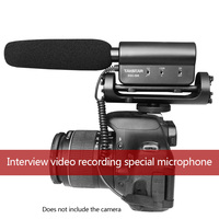 SGC 598 Camera Interview Video Microphone Professional Camera External Radio Interview Microphone Interview Video Recording