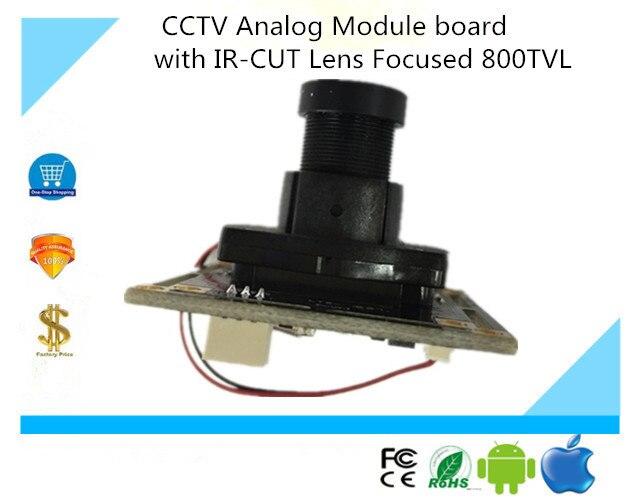 Luckertech Secure CCTV аналоговый модуль доска с IR-CUT объектив фокусируется 800TVL наблюдения 3006 + 8510 стабильными и зрелыми решение