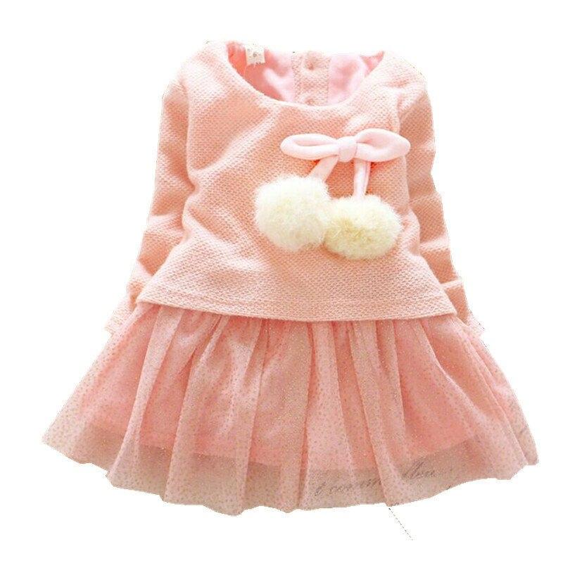 0670e43ac5947 robe hiver bebe fille