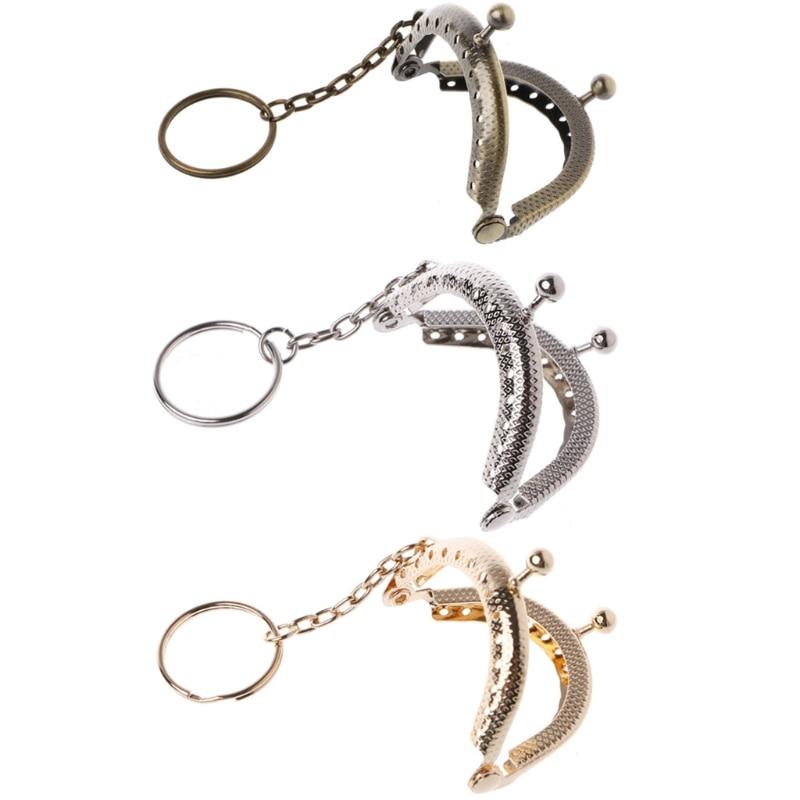Luxury Metal Gold Kiss Clasp Lock Arch Purse Bag Frame Handle DIY Crafts