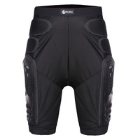 WOSAWE Hockey Motorcycle Armor Shorts Off-road Motorcross Downhill Mountain Bike Skating Extreme Sport Hip Protective Gear Pad