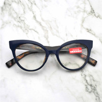 ee975fae050d1 MINCL Novas Mulheres Marca Vidros Ópticos Armação de óculos Cat Glamourosa  Óculos Óculos Óculos de