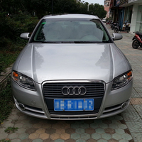 For 2005 2008 Audi A4 B7 Carbon Fiber Headlight Eyebrows Eyelids car accessories
