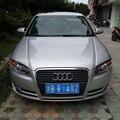 Para 2005-2008 Audi A4 B7 Farol Sobrancelhas Pálpebras De Fibra De Carbono acessórios do carro