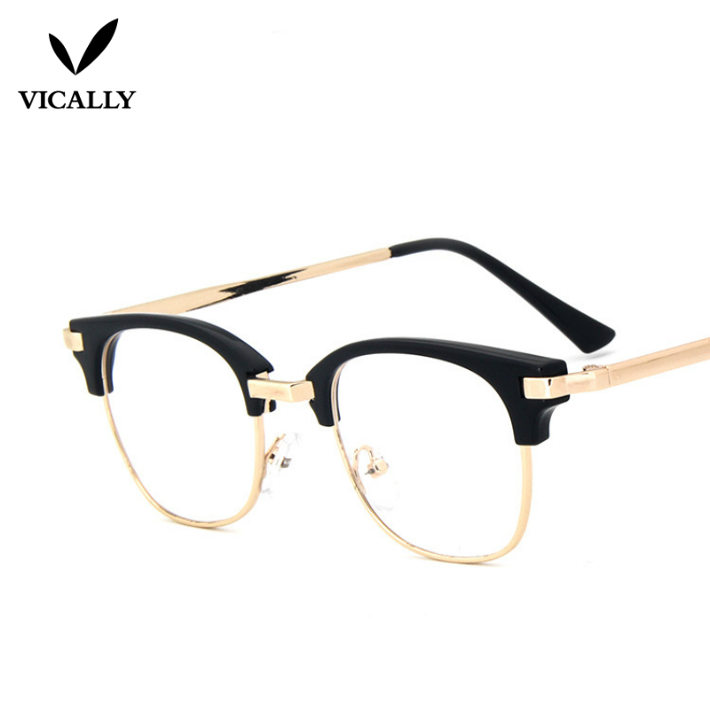 Fashion Cute Eye glasses Frames Women Men Clear Glasses Vintage ...