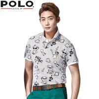 POLO Brand Clothes Top Polo Shirt fit polomens Men Shirt Summer Short Sleeve Table Tennis Tshirt Sportswear Golf Train Shirt New