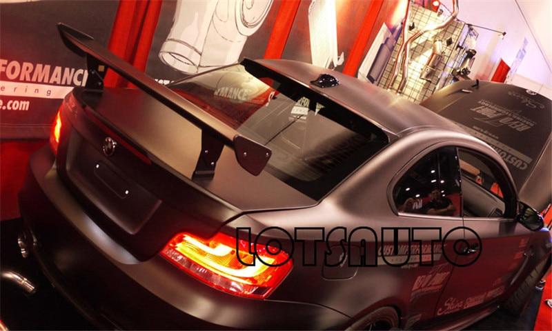 Novos GTS FRP UNPAITED Cor Spoilers Para 1 M M3 E87 E82 E92 E93 F30 F10 Revozport Estilo Auto Asa Carstyling
