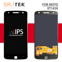 Srjtek screen For Motorola Moto Z Droid XT1650 LCD Display Touch Digitizer Sensor Glass Full Assembly 5.5'' XT 1650